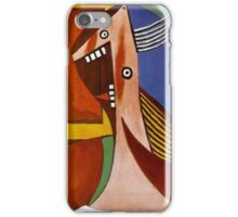In the style of pablo picasso - 3 iPhone Case/Skin