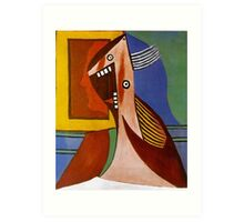 In the style of pablo picasso - 3 Art Print