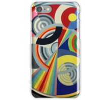 In the style of Robert Delaunay - 1 iPhone Case/Skin