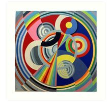 In the style of Robert Delaunay - 1 Art Print