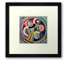 In the style of Robert Delaunay - 1 Framed Print