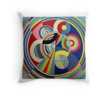 In the style of Robert Delaunay - 1 Throw Pillow
