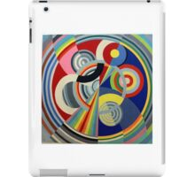 In the style of Robert Delaunay - 1 iPad Case/Skin