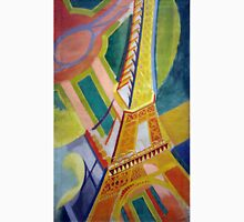 in the style of Robert Delaunay - 2 - Eiffel tower Unisex T-Shirt