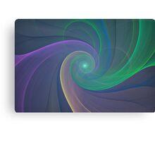 Swirling Canvas Print