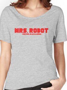 Mr. Robot Mrs. Robot Women's Relaxed Fit T-Shirt