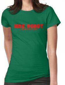 Mr. Robot Mrs. Robot Womens Fitted T-Shirt