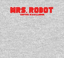 Mr. Robot Mrs. Robot Womens Fitted T-Shirt