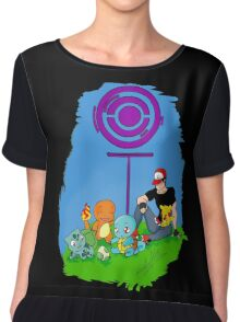 Pokemon Go - A life in the day  Chiffon Top