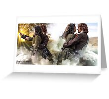 "Outlander ""Adiós "" Greeting Card"