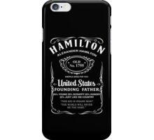 Hamilton Whiskey iPhone Case/Skin