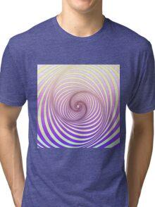Spiral - Op art Tri-blend T-Shirt