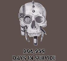 Servo Skull Days In Service Unisex T-Shirt