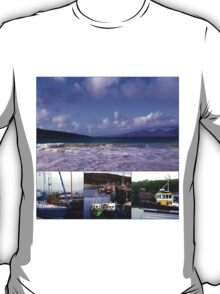 Scottish Waters - A Western Isles Collage T-Shirt