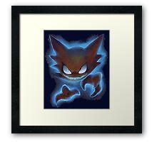 Pokemon Haunter Framed Print
