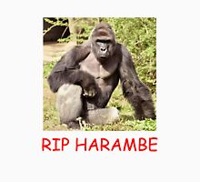 RIP IN PEACE HARAMBE Unisex T-Shirt