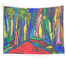 Abstract Forest Wall Tapestry