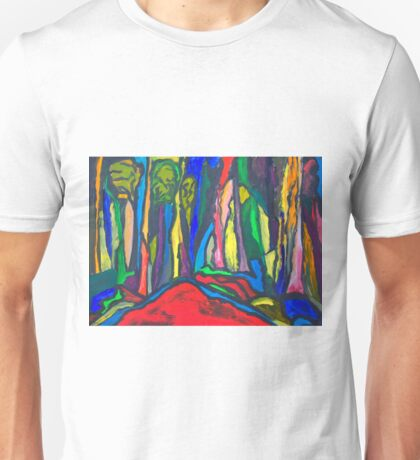 Abstract Forest Unisex T-Shirt