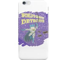 World's Greatest Detective iPhone Case/Skin