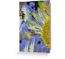 Sunflower Deelight Greeting Card