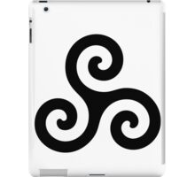 Merlin druid symbol iPad Case/Skin