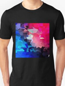 Modern,abstract,color,beautiful,cool,fun,polygamy,design Unisex T-Shirt