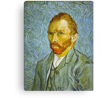 'Self Portrait' by Vincent Van Gogh (Reproduction) Canvas Print