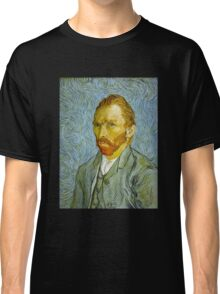 'Self Portrait' by Vincent Van Gogh (Reproduction) Classic T-Shirt