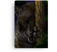 Lycanthrope - Waiting Canvas Print