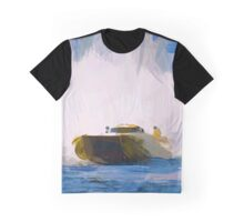 Speed Boat Graphic T-Shirt