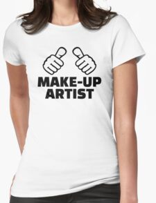 Make-up artist Womens Fitted T-Shirt