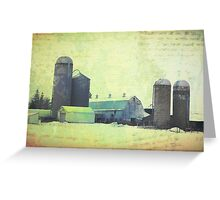 Midwest Farm Greeting Card
