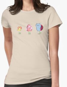 CatBug Evolution Womens Fitted T-Shirt