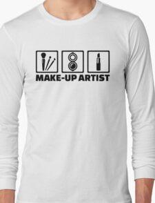 Make-up artist Long Sleeve T-Shirt