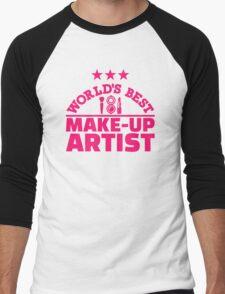 World's best make-up artist Men's Baseball ¾ T-Shirt
