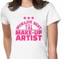 World's best make-up artist Womens Fitted T-Shirt
