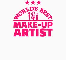 World's best make-up artist Womens Fitted T-Shirt