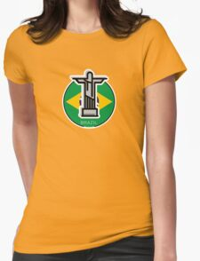 Around the world - Brazil Womens Fitted T-Shirt