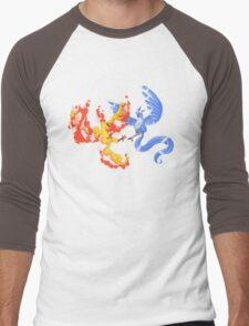Valor vs Mystic Men's Baseball ¾ T-Shirt