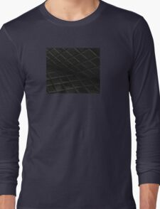 Black Diamonds Pattern Long Sleeve T-Shirt