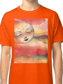 Pink Sunset Pop Classic T-Shirt