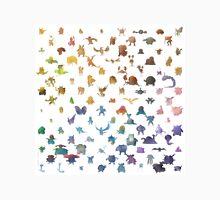 Pokemon,Color Unisex T-Shirt
