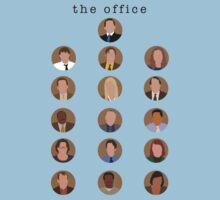 The Office Minimalist Cast One Piece - Short Sleeve