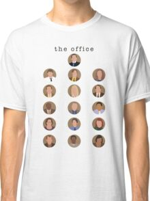 The Office Minimalist Cast Classic T-Shirt