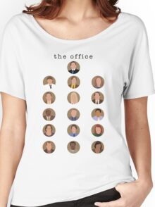 The Office Minimalist Cast Women's Relaxed Fit T-Shirt