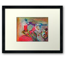 Ceremonial Dance Framed Print