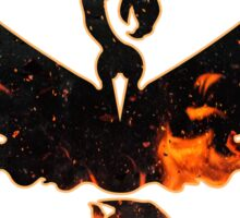 Pokemon GO - Team Valor Logo (darker version) Sticker