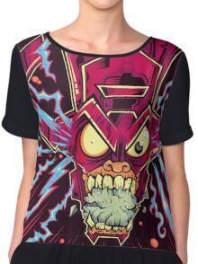FEED ME YOUR PLANETS Chiffon Top