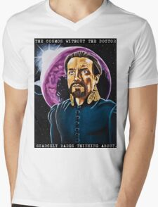 The Cosmos Without the Doctor Mens V-Neck T-Shirt