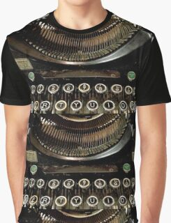 Typewriter (2) Graphic T-Shirt